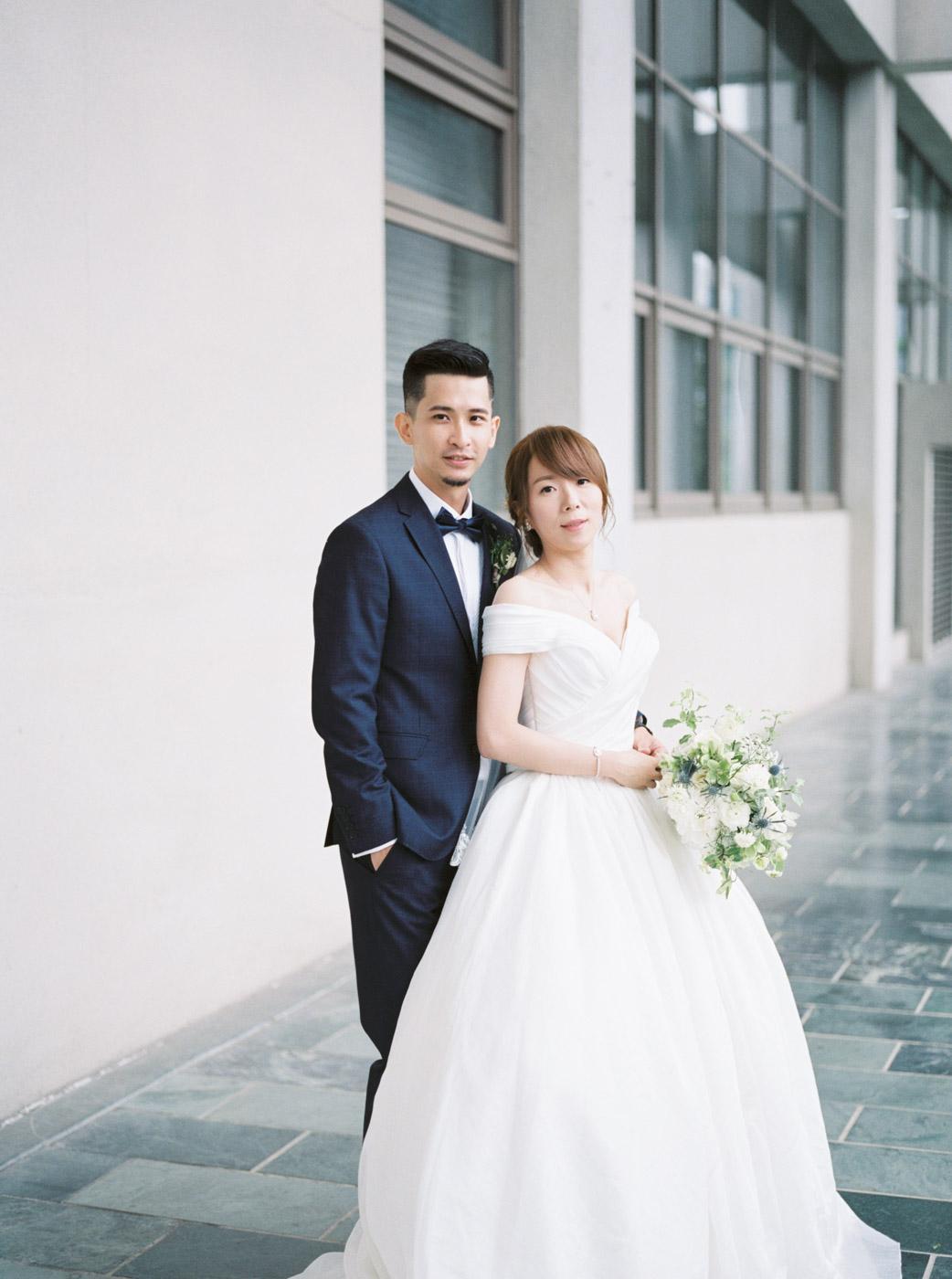 美式婚禮 教會婚禮 寒軒飯店 台北婚攝 fine art wedding wedding photography