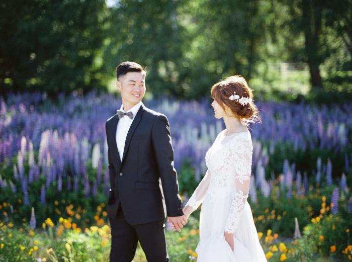 紐西蘭婚紗 美式婚紗 tekapo